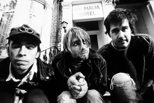 Picture of Nirvana via spin.com