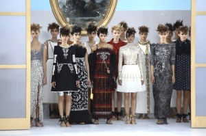 Chanel's finale, featuring Kendall Jenner front and center. Photo courtesy of Getty Images.