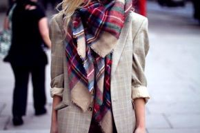 The plaid scarf everyone has