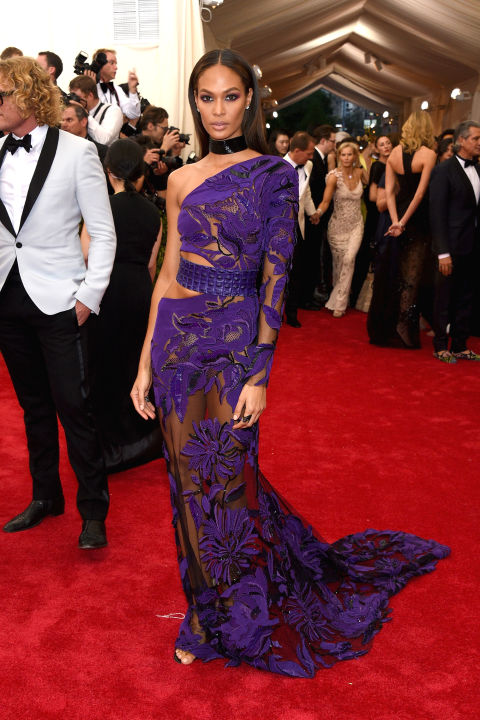 Joan Smalls in Roberto Cavalli
