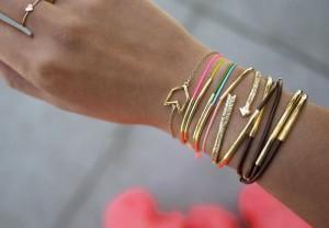 Noodle bracelet