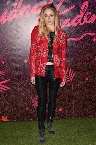 Sophie-Turner-wearing-bandana-printed-moto-jacket-NYLON.jpg